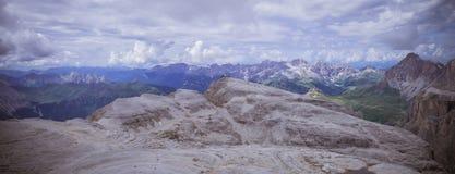Piz Pordoi, Dolomiti mountains in Italy Royalty Free Stock Photo