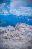 Piz Pordoi, w Włochy Dolomiti góry Obrazy Stock
