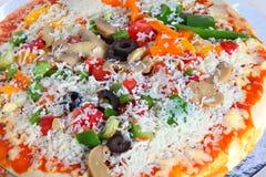 piza顶部 图库摄影
