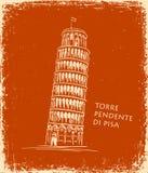 Piza torn, vektorillustration, loppbegrepp stock illustrationer