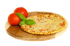 Pizaa quatrro fromaggi Stock Images