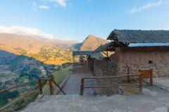 Pizac考古学站点Qanchis Raqay区秘鲁 库存图片