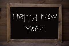 Pizarra con Feliz Año Nuevo Imagen de archivo