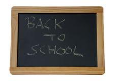 Pizarra de la escuela Foto de archivo libre de regalías