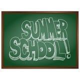 Pizarra de la escuela de verano libre illustration