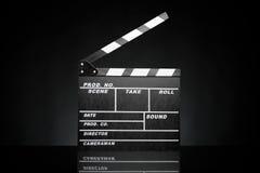 Pizarra de la película Imagen de archivo libre de regalías