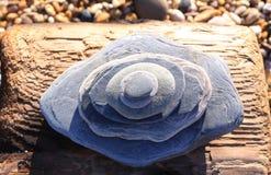 Pizarra de la playa foto de archivo libre de regalías