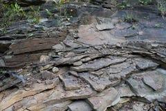 Pizarra de la roca Foto de archivo libre de regalías