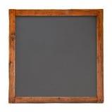 Pizarra de madera cuadrada vieja c Fotografía de archivo libre de regalías
