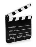 Pizarra de madera de la película fotografía de archivo libre de regalías