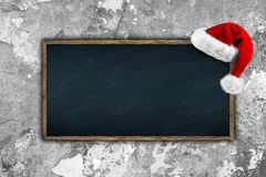 Pizarra de Navidad Imagen de archivo