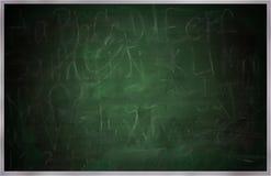 Pizarra, Greenboard o pizarra de la escuela vieja ilustración del vector
