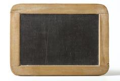 Pizarra vieja con un marco de madera Fotos de archivo libres de regalías