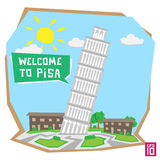Pizas Tower Royalty Free Stock Images