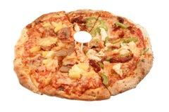 Pizz italiano redondo Fotografia de Stock