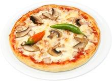 Pizz Pepperoni Zdjęcie Stock