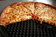 pizzę z serem Obrazy Royalty Free