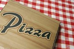 Pizza à emporter Photographie stock libre de droits