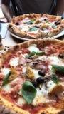 Pizza à Londres image stock