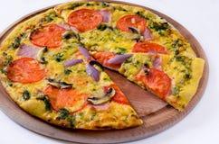 Pizza ÐиÑÑа royalty-vrije stock foto's