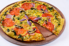 Pizza �и��а Royalty Free Stock Photos