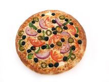 pizza Royaltyfri Fotografi
