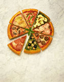 Pizza Stockfoto