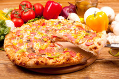 Pizza Stock Image