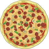 pizza Obraz Stock