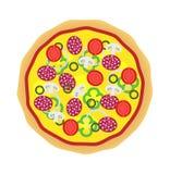 Pizza. Tasty  pizza isolated on white Stock Photo