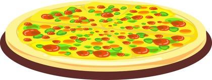 Pizza! Royalty-vrije Illustratie