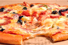Pizza Stockfotos