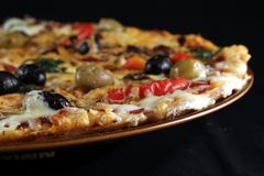 Pizza 2 Stock Photography