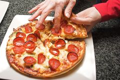 Pizza Image stock