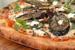 Pizza 3 della melanzana del parmigiano Immagini Stock Libere da Diritti