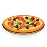 Pizza Foto de Stock