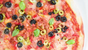 Pizza Foto de Stock Royalty Free