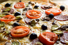 Pizza. Royalty-vrije Stock Afbeeldingen