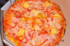 Pizza Royaltyfria Foton