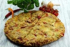 Pizza Royalty-vrije Stock Afbeeldingen