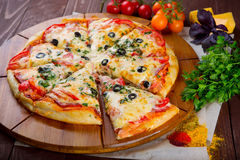 Pizza Fotografia Royalty Free