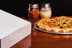 Pizza Fotografie Stock Libere da Diritti