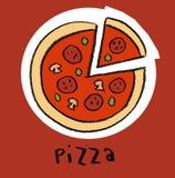 Pizza Imagem de Stock Royalty Free