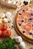 Pizza Lizenzfreies Stockfoto