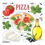 Pizza Zdjęcia Royalty Free