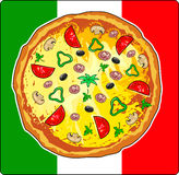 pizza ilustracji