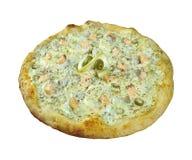 Pizza ai frutti di mare Royalty Free Stock Photography