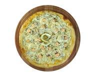 Pizza ai frutti di mare Royalty Free Stock Photos