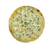 Pizza ai frutti di mare Royalty Free Stock Images