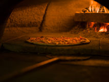 Pizza al forno Stock Image
